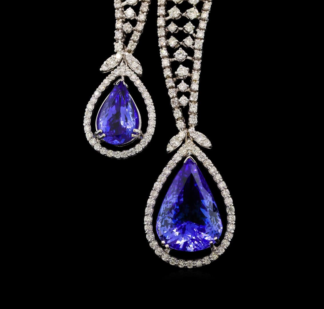 jewelry auction ctw tanzanite and diamond jewelry